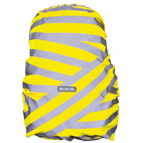 Wowow Berlin Rygsækcover, silver reflective stripes/yellow